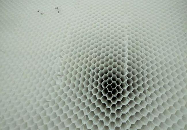 蜂窝斜管填料